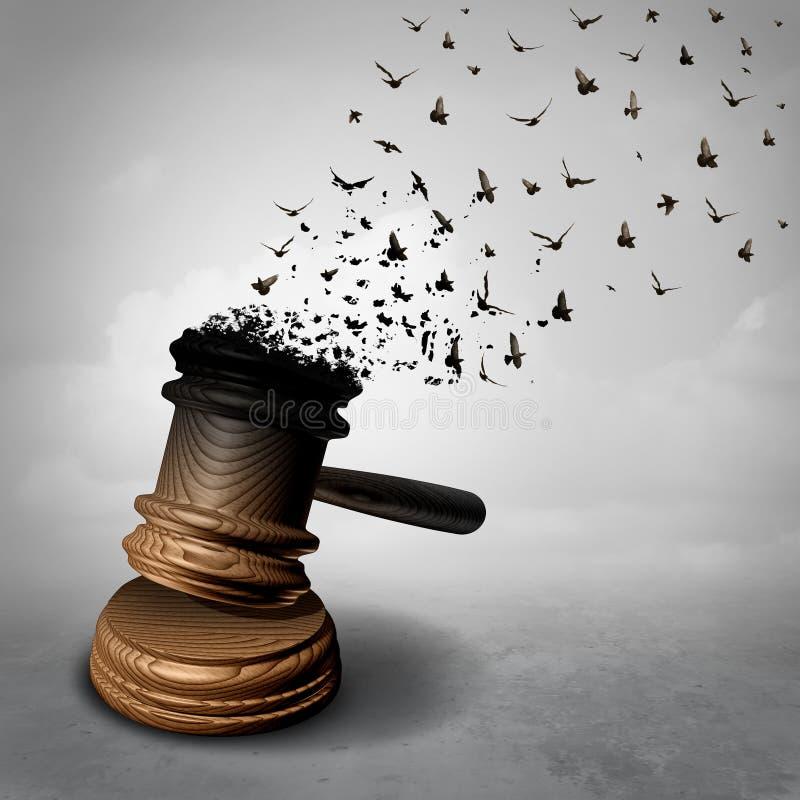 Концепция амнистии бесплатная иллюстрация