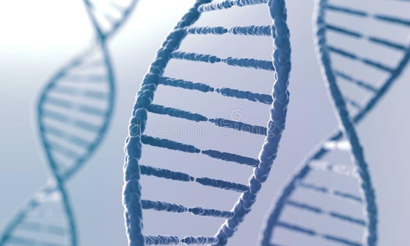 Концепция биохимии, предпосылки конспекта молекулы дна иллюстрация штока