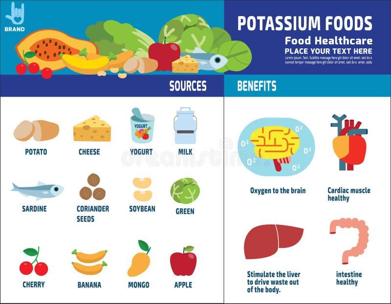 Концепция брошюры значка элементов вектора здоровья еды infographic иллюстрация штока