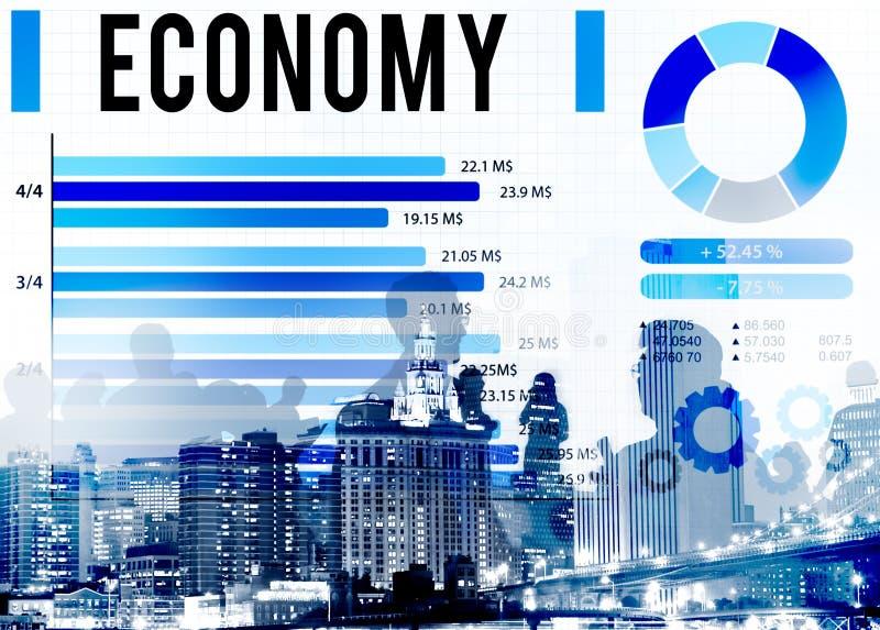 Концепция валюты денег Invesement экономики финансовая стоковое изображение