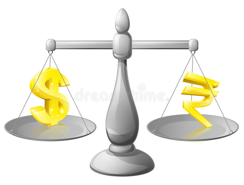 Концепция валюты иллюстрация штока