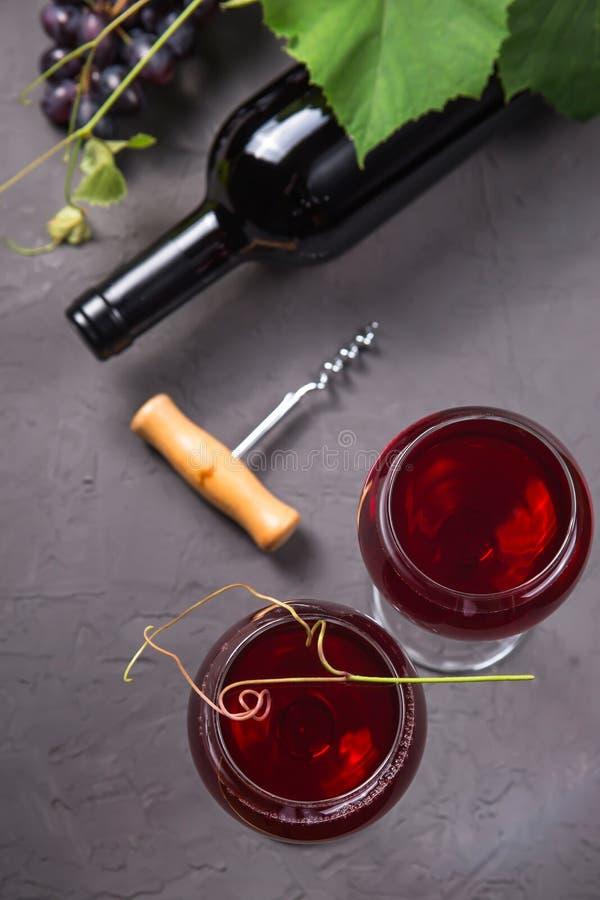 Концепция виноделия от свежего сбора виноградины осени стоковое фото