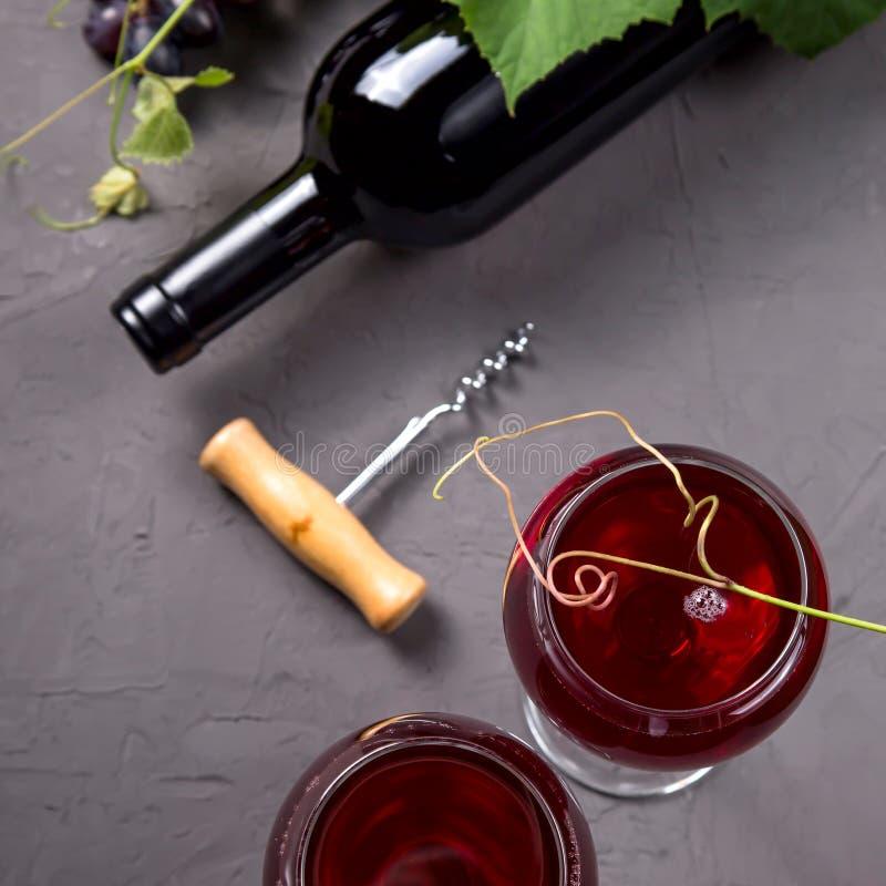 Концепция виноделия от свежего сбора виноградины осени стоковое изображение