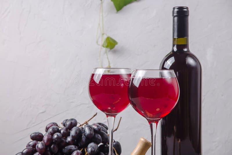 Концепция виноделия от свежего сбора виноградины осени стоковые фотографии rf