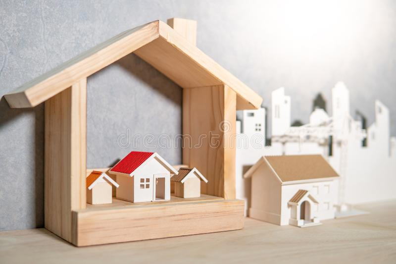 Концепция вклада свойства или недвижимости стоковая фотография rf
