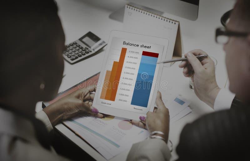 Концепция вклада целей цели анализа баланса активов и пассивов стоковая фотография rf