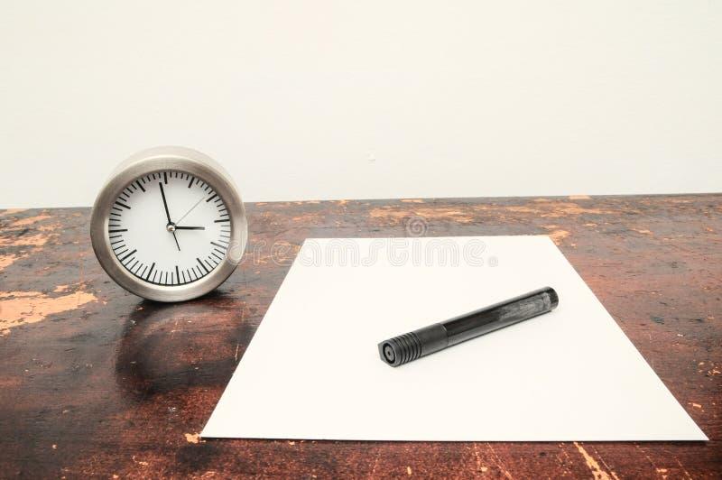 Концепция времени экзаменов стоковая фотография