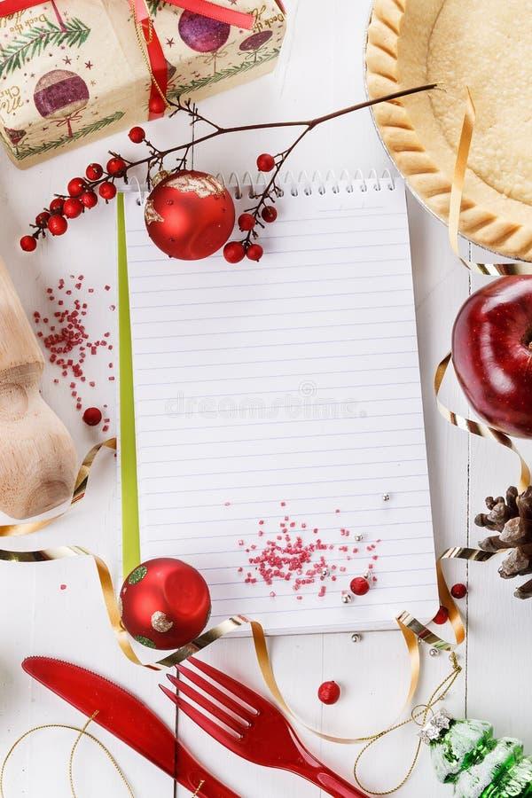 Концепция выпечки рождества стоковые изображения rf