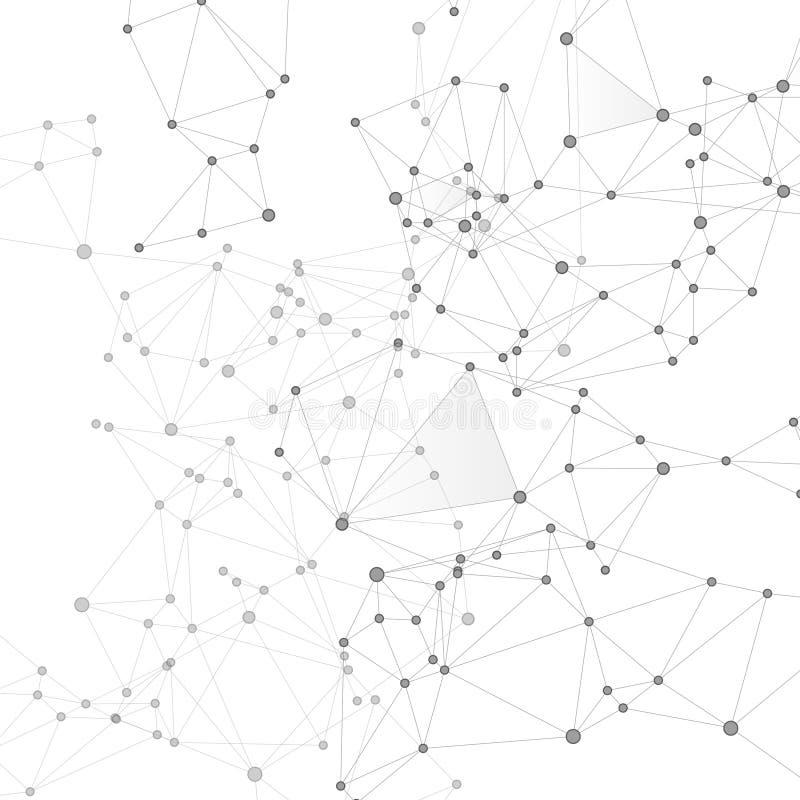 Концепция геометрической структуры плекса кибернетическая r бесплатная иллюстрация
