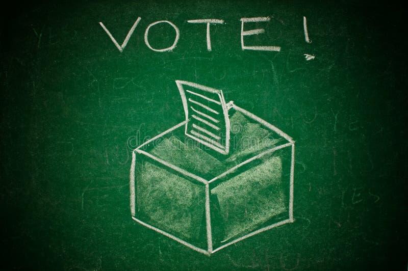 Концепция голосования стоковое фото