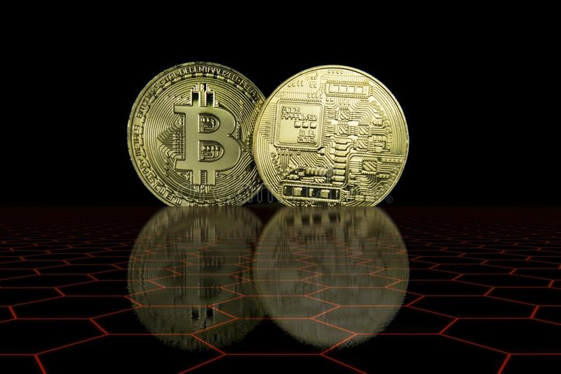 Концепция дела Cryptocurrency стоковые фото