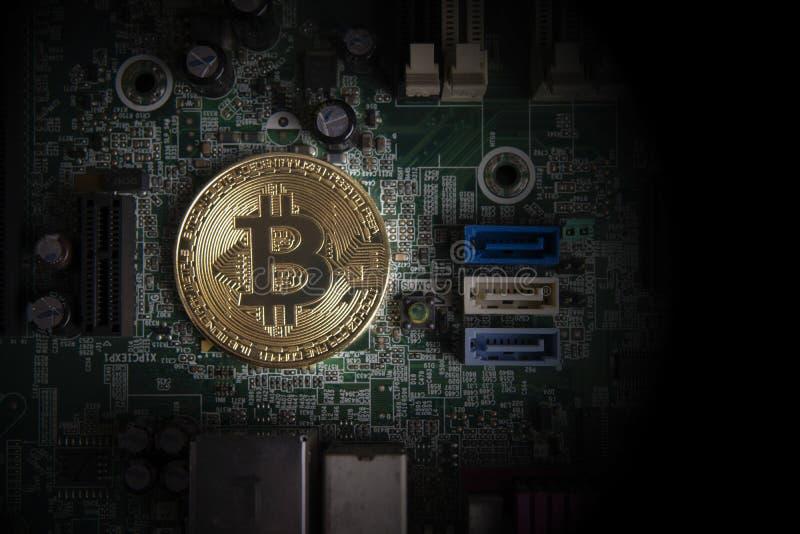 Концепция дела Cryptocurrency стоковые фотографии rf