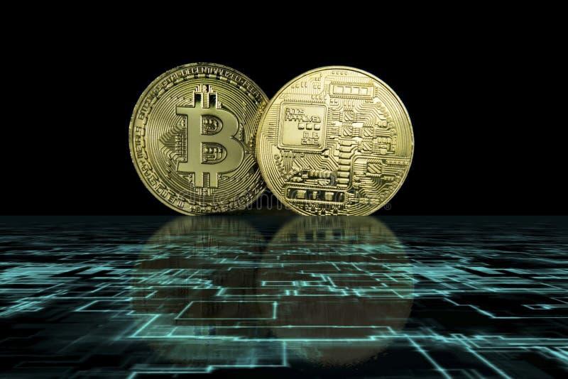 Концепция дела Cryptocurrency стоковое фото