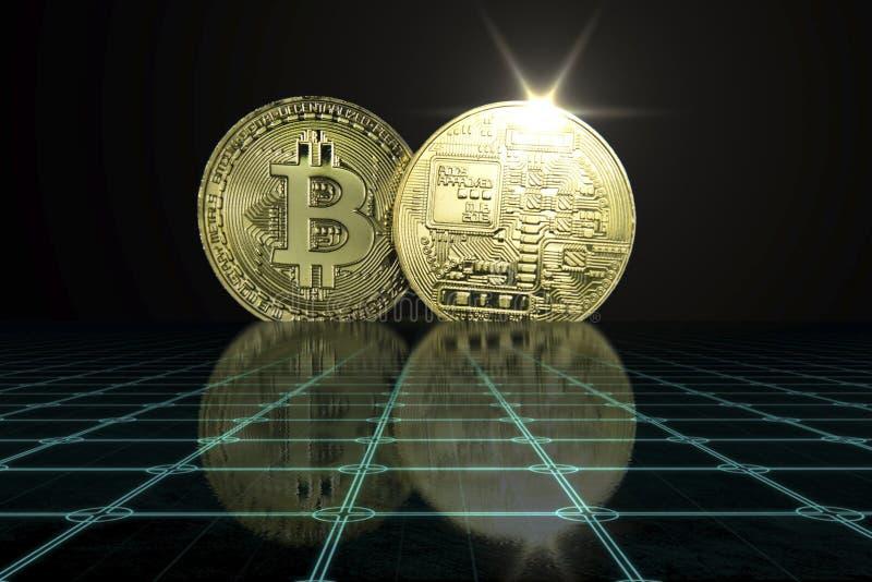 Концепция дела Cryptocurrency стоковые изображения