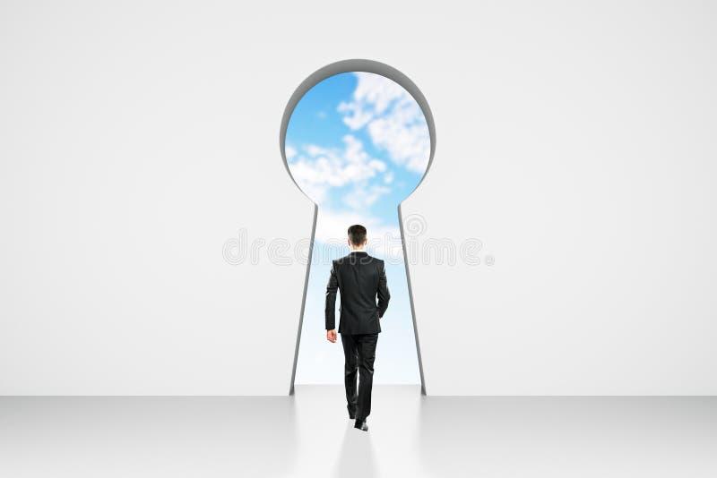 Концепция доступа и карьеры стоковые изображения rf