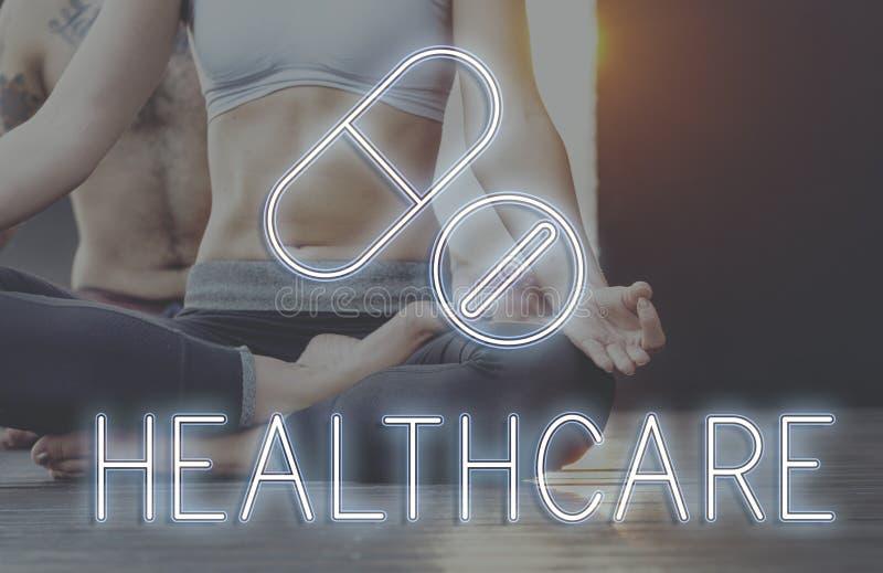 Концепция лекарств здоровья лечения медицинская стоковое изображение