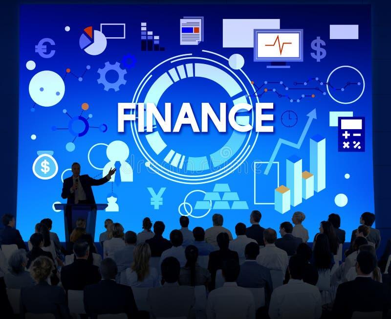 Концепция денег экономики банка бухгалтерии финансов стоковое изображение rf