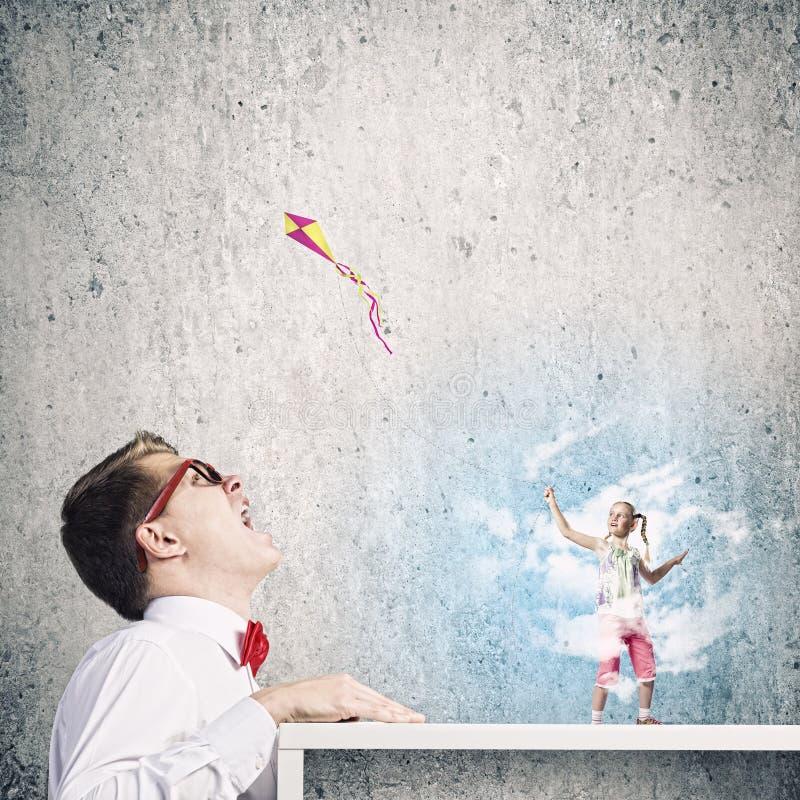 Download Концепция детства стоковое изображение. изображение насчитывающей наслаждение - 41651057