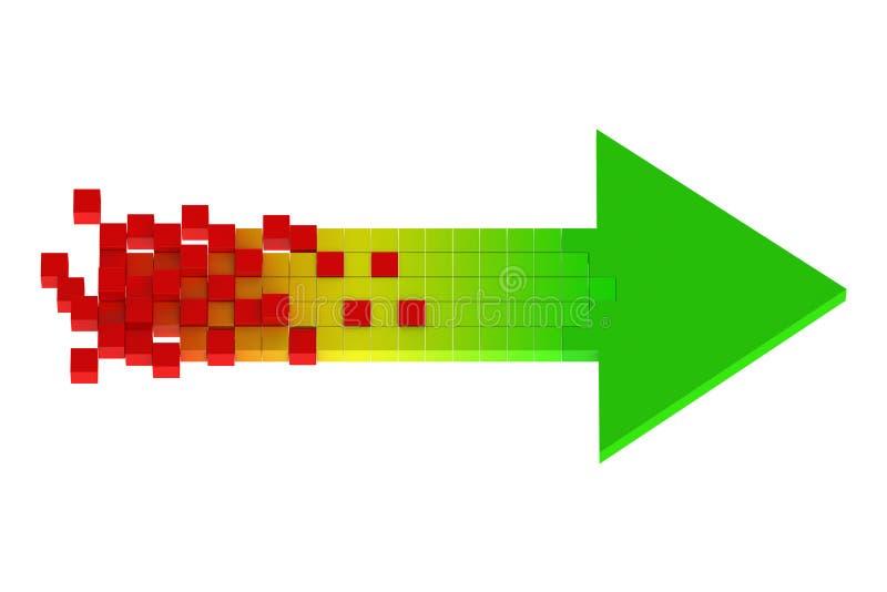 Концепция дела и стратегии иллюстрация штока