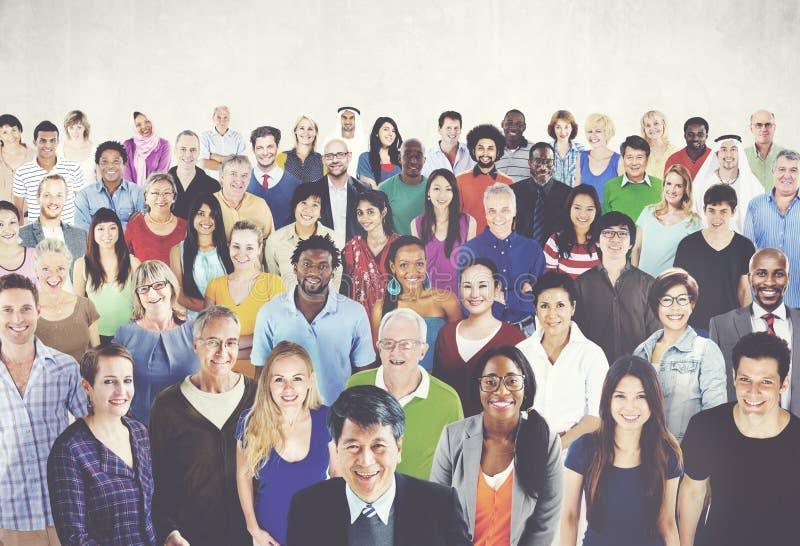 Концепция единства единения этничности разнообразного разнообразия этническая стоковая фотография