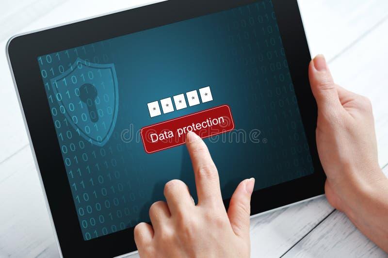 Концепция защиты данных стоковое изображение rf