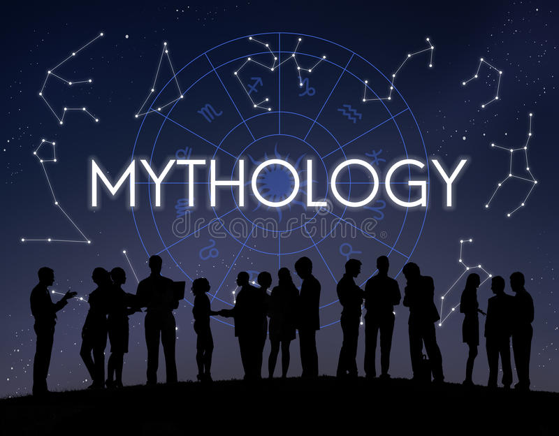 Концепция звезды вселенной космоса мифологии стоковое изображение rf