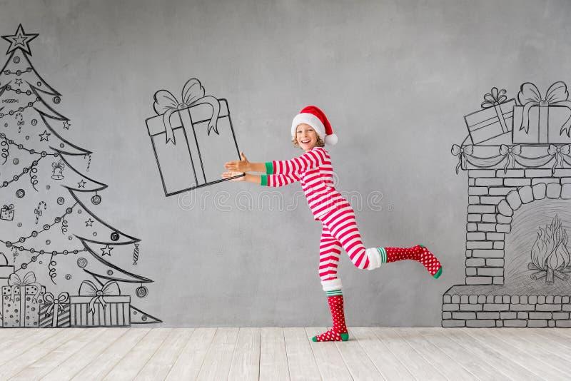 Концепция зимнего отдыха Xmas рождества стоковое изображение