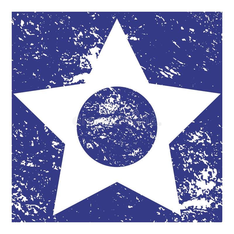 Концепция значка звезды иллюстрация штока