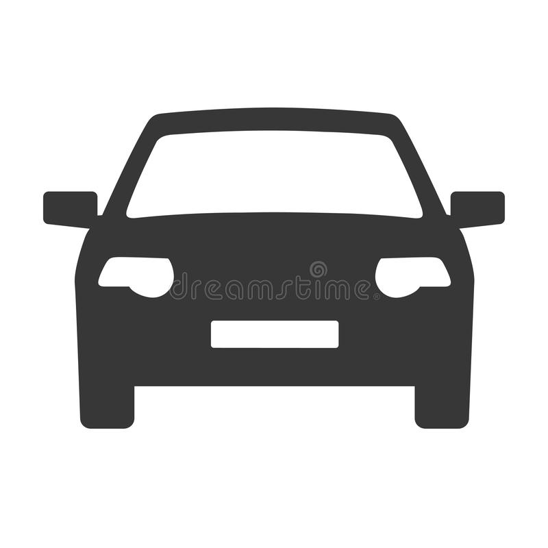 Концепция иллюстрации вектора значка автомобиля бесплатная иллюстрация