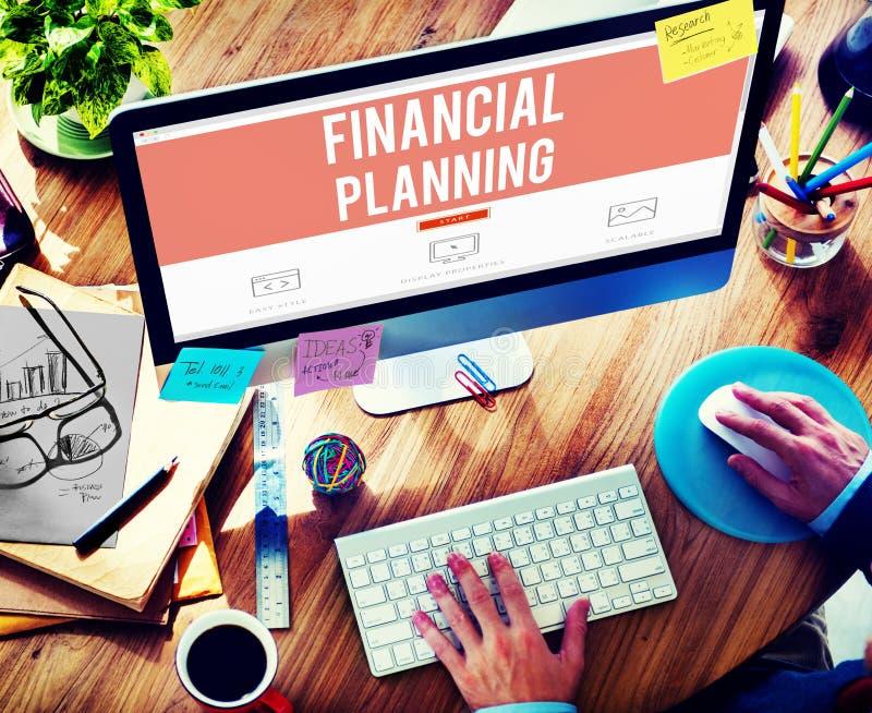 Концепция имущества вклада бухгалтерии финансового планирования стоковые изображения rf