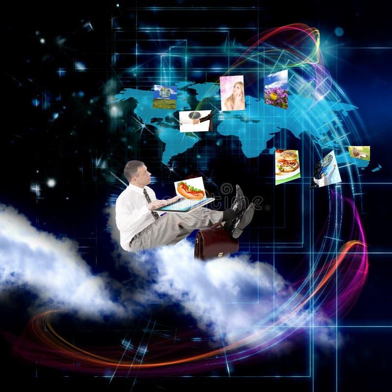 Концепция интернета стоковая фотография rf