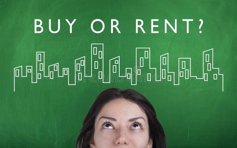 Концепция ипотеки недвижимости вклада свойства стоковое изображение