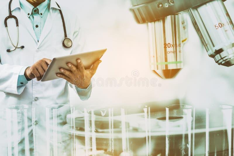 Концепция исследования медицинской науки стоковая фотография