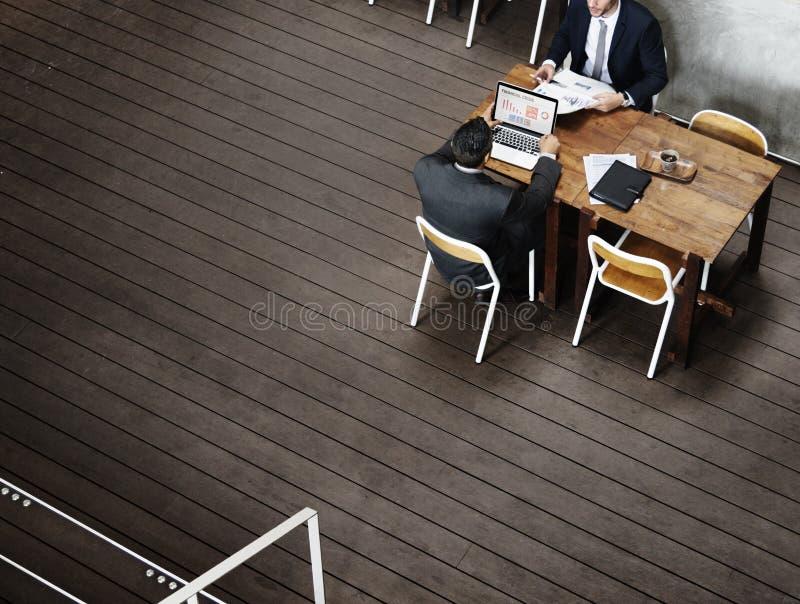 Концепция команды работы партнерства деловой встречи Startup стоковое фото