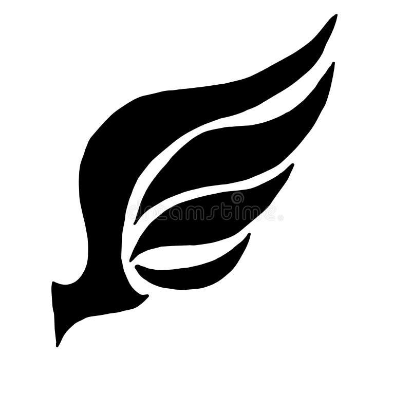 Концепция крыла бесплатная иллюстрация