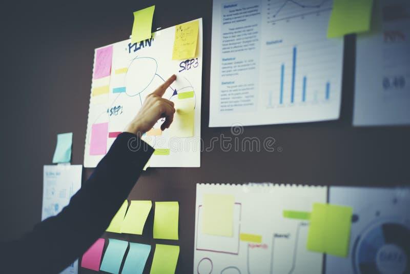 Концепция маркетинга планирования организации диаграммы дела стоковая фотография