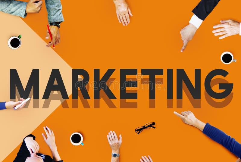 Концепция маркетинга планирования руководства руководства встречи команды стоковые фотографии rf