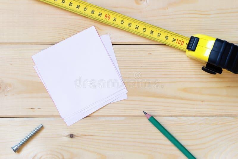Концепция маркировки плотничества стоковые фото