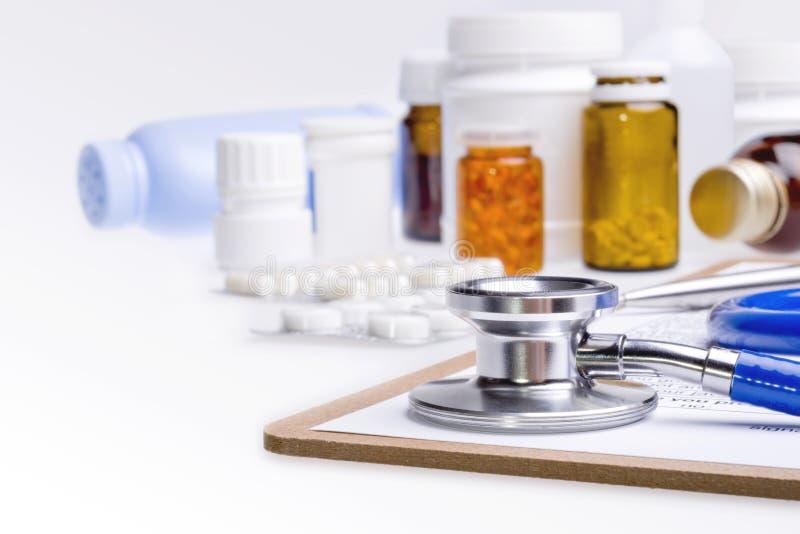 Концепция медицинской предпосылки стоковые фото