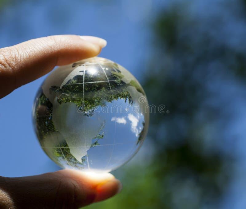 Концепция мировой окружающей среды стоковые фото