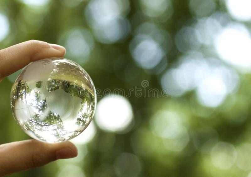 Концепция мировой окружающей среды стоковые изображения rf