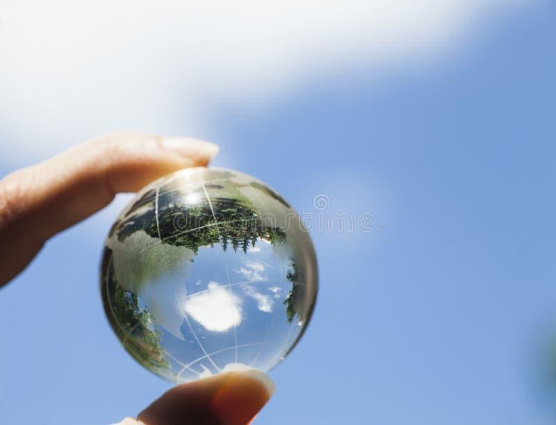 Концепция мировой окружающей среды стоковое фото rf
