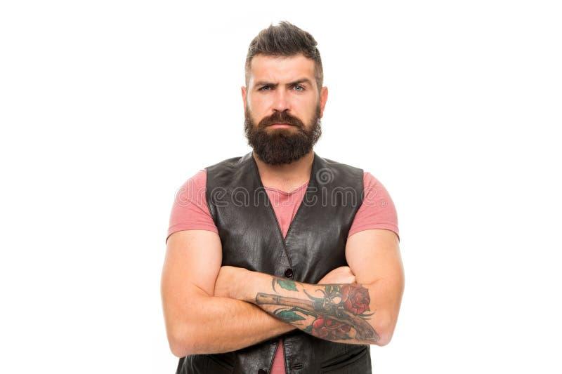 Концепция мужественности Холить парикмахерской и бороды Вводить бороду и усик в моду Холить бороды тенденции моды лицево стоковое фото