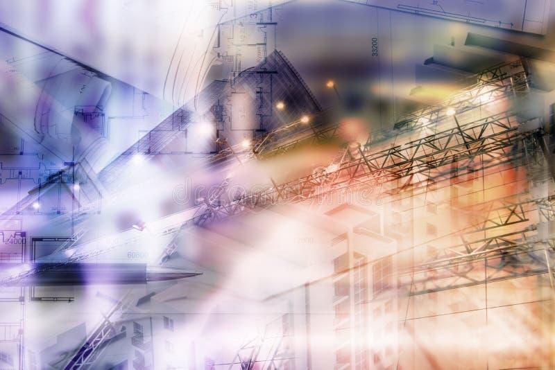 Концепция недвижимости, двойная светокопия экспо и ключи стоковое фото rf