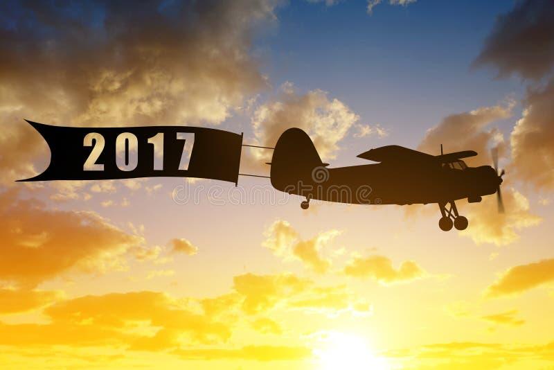 Концепция Нового Года 2017 стоковое фото rf