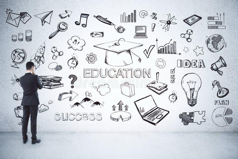 Концепция образования и науки стоковая фотография rf