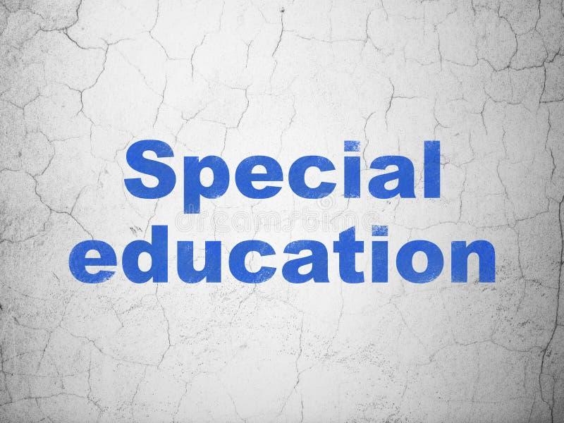 Концепция образования: Специальное обучение на предпосылке стены стоковая фотография