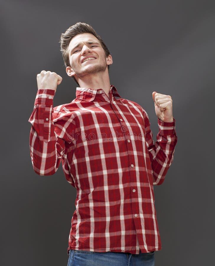 Концепция озлобления для мужского подростка выражая повстанчество стоковое изображение rf