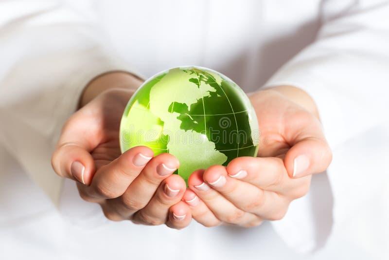 Концепция охраны окружающей среды стоковое фото rf