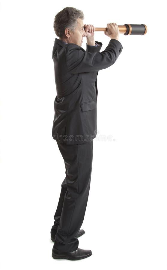 Download Концепция одного бизнесмена Стоковое Изображение - изображение насчитывающей расстояние, дело: 40589749